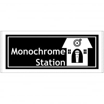 Monochrome Station公式タオル
