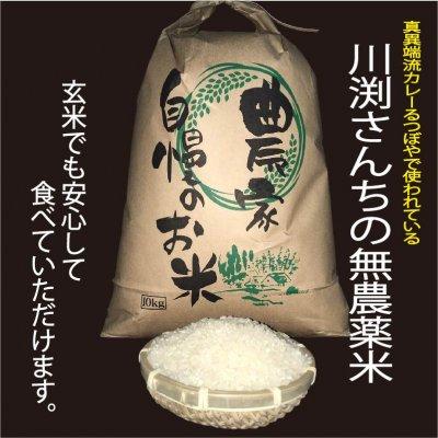 川淵さんちの無農薬米&季節の無農薬野菜セット【兵庫県認証食品取得】