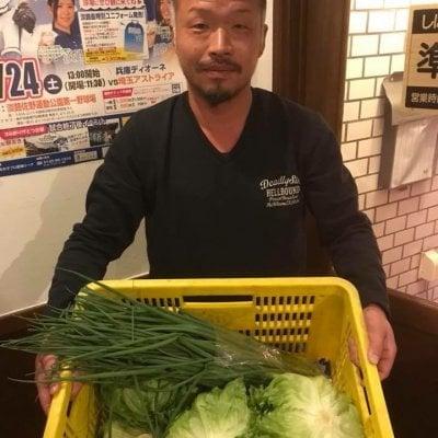 川淵さんちの季節の無農薬野菜詰め合わせ【兵庫県認証食品取得】