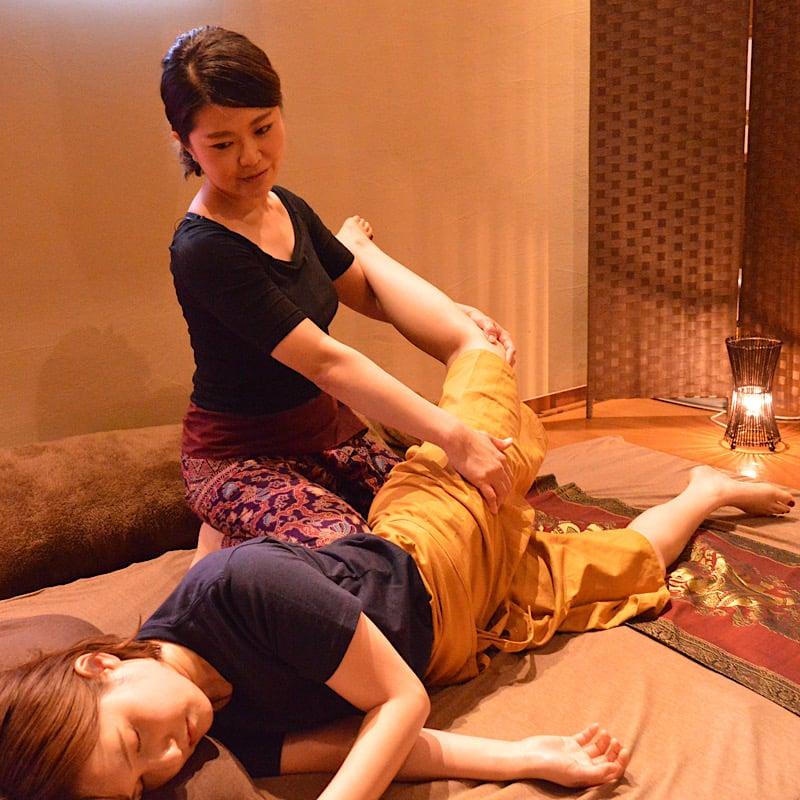 【リラクゼーションで疲労回復】オイルマッサージ&タイ古式マッサージ 120分 広島の隠れ家サロンのイメージその2