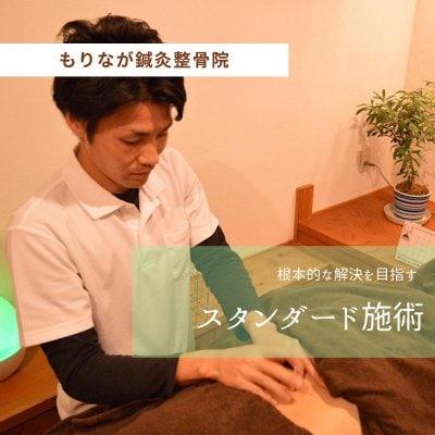 【スタンダード施術】鍼灸・整体・電気治療でトータル的にアプローチ!からだ本来の機能を取り戻す