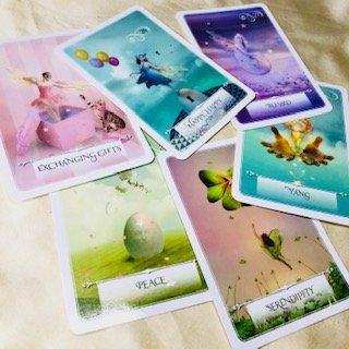 ゆ〜みんメソッド♡オラクルカードを楽しく読んじゃおう♬zoom開催 1対1 カードリーディング練習のイメージその2