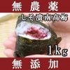 梅干し 無添加 無農薬 しそ漬南高梅 1kg 送料無料 熊野のご褒美 和歌山産 無化学肥料 梅干 南高梅 お歳暮などのギフト 贈り物にもおすすめ