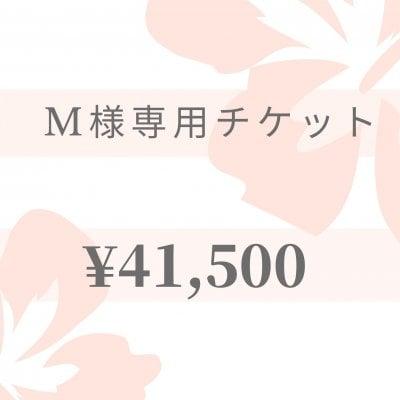 【現地払い】M様専用チケット