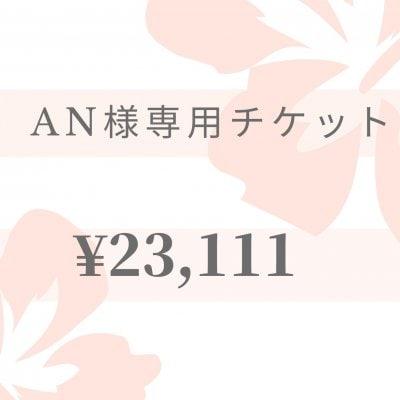 【現地払い専用】AN様専用チケット