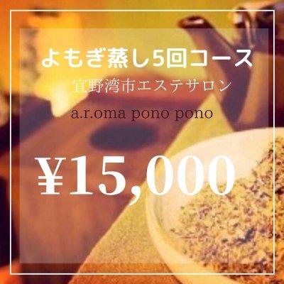 【現地払い専用】よもぎ蒸し10回コース¥15,000|宜野湾市エステサロンアロマポノポノ
