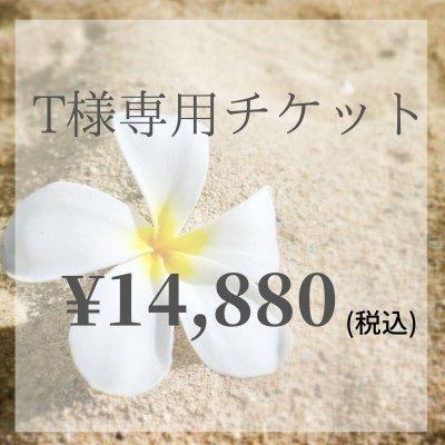 【現地払い専用】T様専用チケット¥14,880