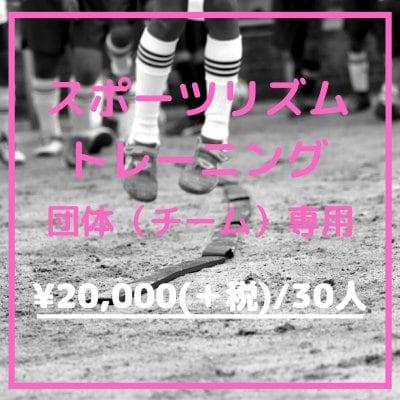 【チーム指導】スポーツリズムトレーニング(30人まで)