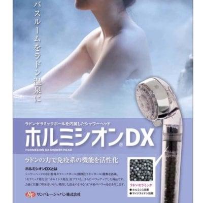 ラドンセラミックを内蔵したシャワーヘッド『ホルミシオン®︎DX』【ラド...