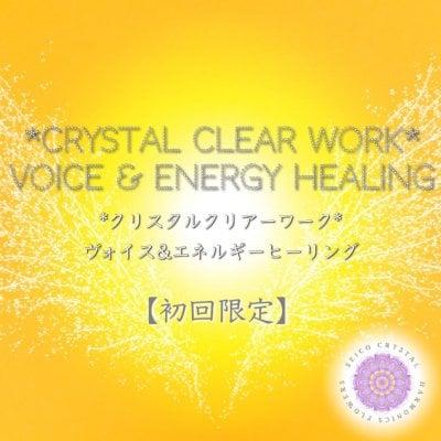 【初回限定】クリスタルクリアーワーク60分(オンラインのみ) (250p)