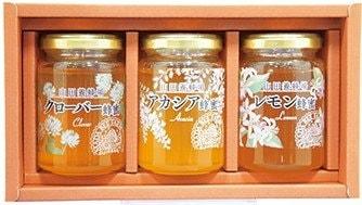 山田養蜂場 厳選蜂蜜3本セット