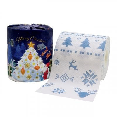 クリスマスツリートイレットペーパー10個組 毎年販促に大人気 いくつ...
