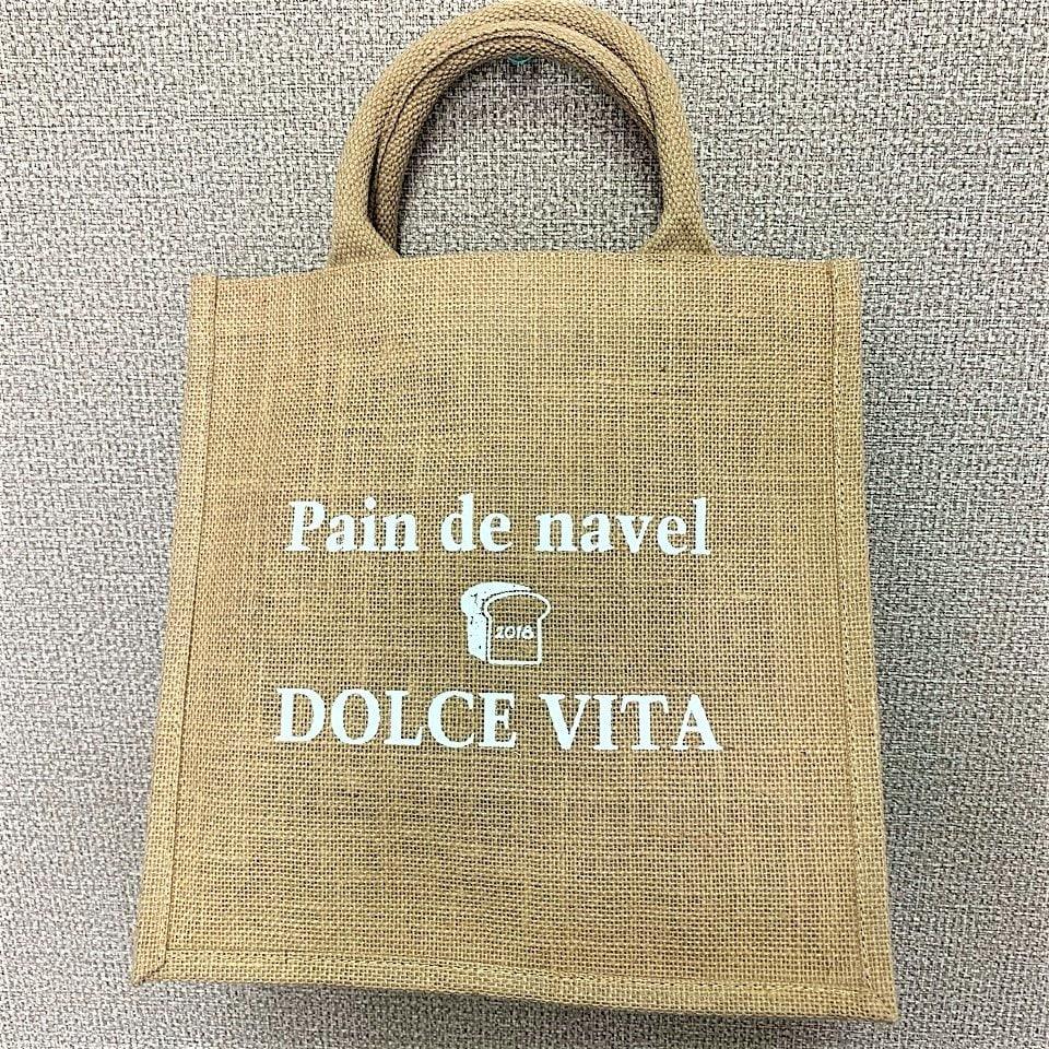DOLCEVITA&Pain de Navelオリジナルecoバック☆のイメージその1