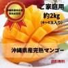 (2㎏)すみちゃんおばぁの自慢のマンゴー