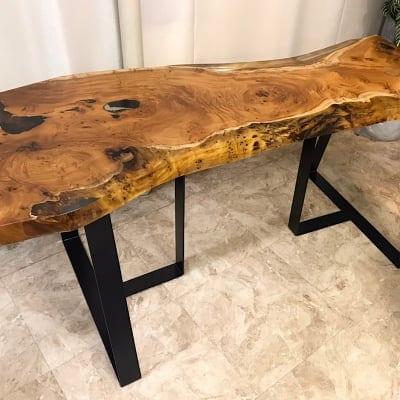 【1点もの!!】欅 天板 テーブル