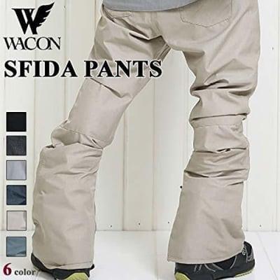 19-20 WACON スノーボードウェア メンズ パンツ SFIDA スフィーダ BLACK L