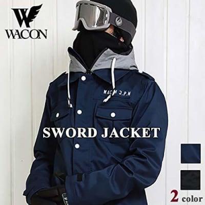 19-20 WACON スノーボードウェア メンズ  SWORD ソード NAVY M