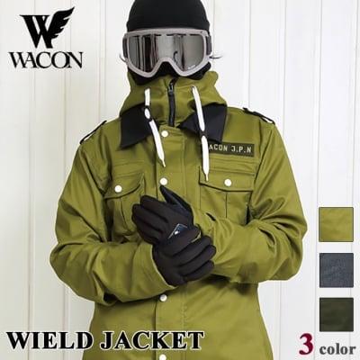 19-20 WACON スノーボードウェア メンズ WIELD ウィールド D.BLK M
