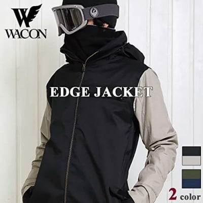 19-20 WACON スノーボードウェア メンズ EDGE  エッジ BLK/SND S