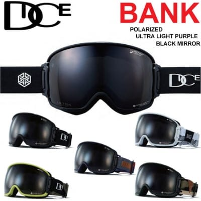 19-20 DICE ダイス BANK バンク  BK94362 [Polarized Gray/ULTRA Light Purple / Black mirror] 偏光レンズ  CAMO(287)