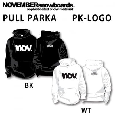 2019 NOVEMBER ノベンバー スノーボード PULL PARKA プルパーカー 長袖 ...