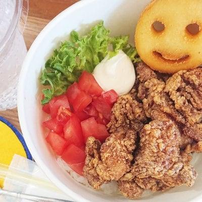 【イートイン専用】ロコチキン丼&ポテトドリンクセット