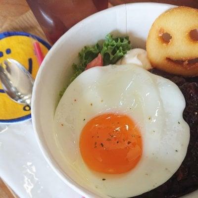 【イートイン専用】ロコモコ丼&ポテトドリンクセット