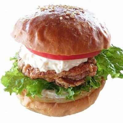 【テイクアウト専用】クリームチーズチキンバーガー&ポテトドリンクセット