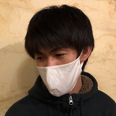 ※送料無料!洗える抗菌布マスク3枚セット  大きめサイズ【スタイリッシ...