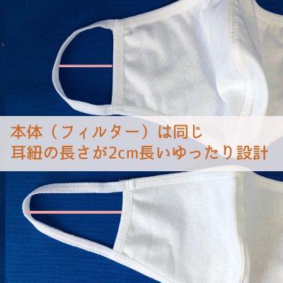 ※送料無料!☆ゆったり大きめ 洗える抗菌布マスク3枚セット