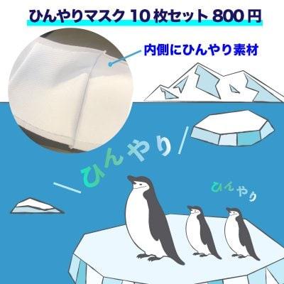 ★超お得 ひんやり布マスク10枚セット800円