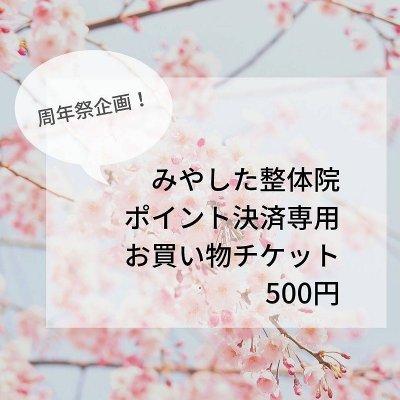 【周年祭企画】ポイント決済専用店内お買い物チケット