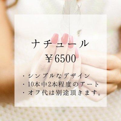 【店頭払い専用】ナチュール 〜シンプルネイル〜 10本中2本程度のアート