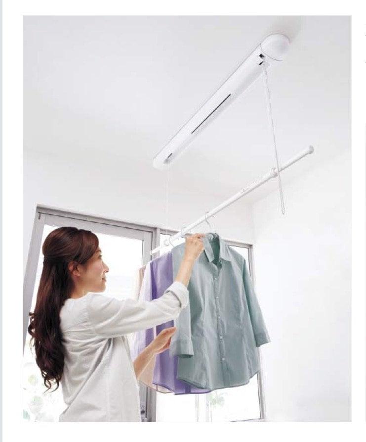 室内物干しユニット Panasonicホシ姫サマ 取り付け工事チケット 製品代含むのイメージその1