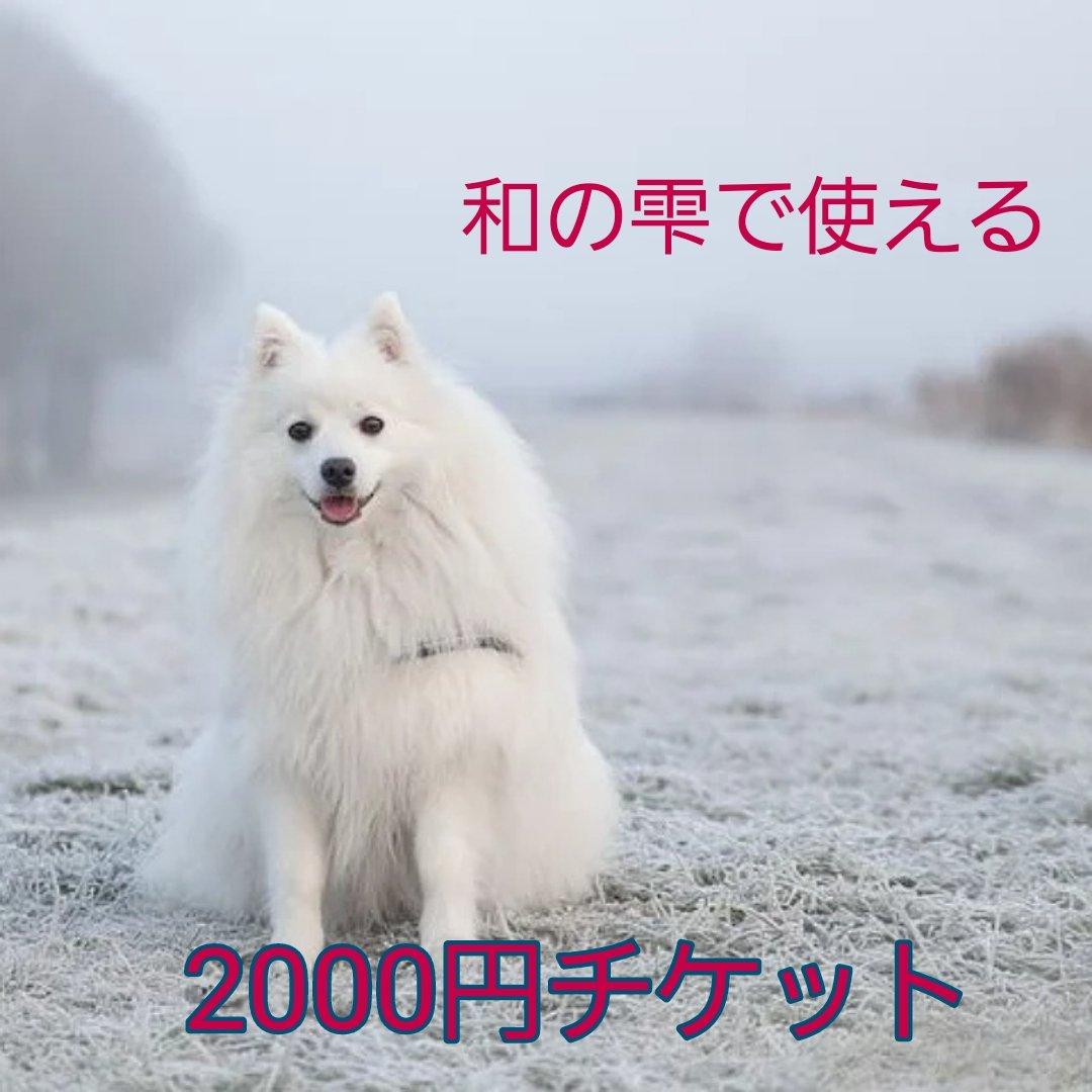 2000円分チケットのイメージその1