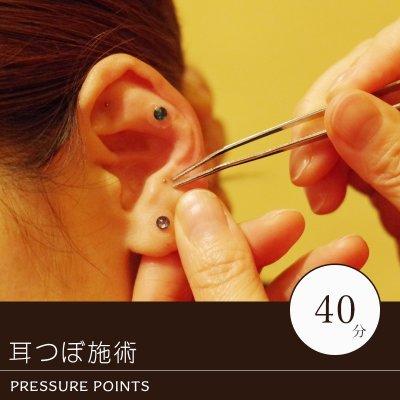 耳つぼ施術(40分)