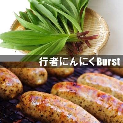 行者にんにく(ブルストソーセージ) ×3本入り【冷凍発送】
