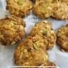 オーガニックオートミールのハーブチーズクッキー