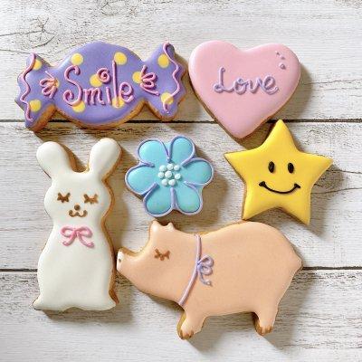 【お試しにぴったり!】Smile Sweetsイチオシアイシングクッキーセット