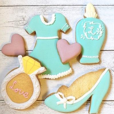 【女子力高め】ガールズモチーフアイシングクッキーセット
