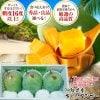 沖縄県産高級キーツマンゴー秀品 中玉( 1.7kg〜2kg) 3玉入り 贈答用 ギフト