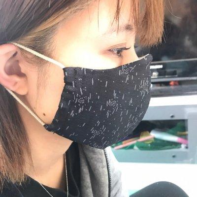 【葬儀屋なごみのお薦め】2重マスクを1枚で安心おしゃれな溶菌酵素シル...