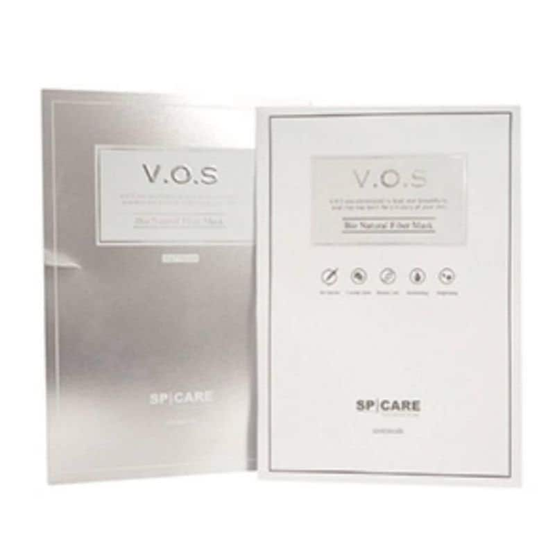 【サロン受取り専用】天然針美肌形成V.O.Sマスク(10枚入)|VOS(ヴィクトリーオブスキン)マスク|高機能天然HARIパックのイメージその2