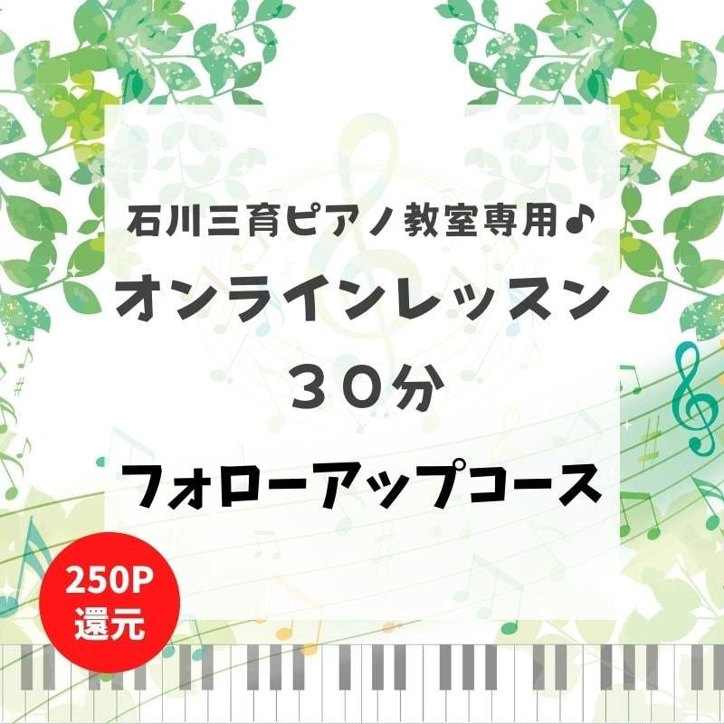石川三育ピアノ教室専用 オンラインレッスン フォローアップコースのイメージその1