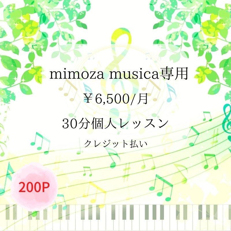 mimoza musica専用 個人レッスン のイメージその1