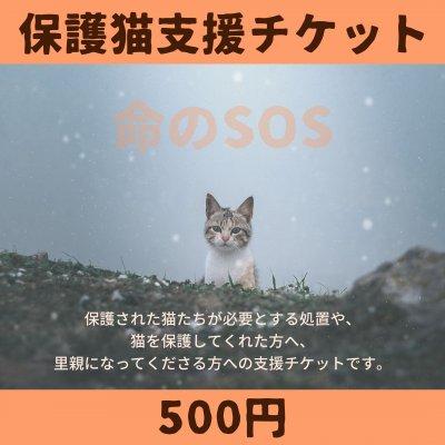 【保護猫支援チケット】〜命のSOS〜