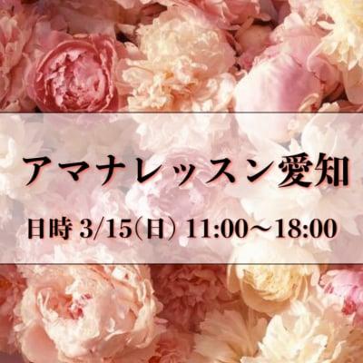 3/15(日) アマナレッスン愛知