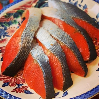 鮭の一刻干し|美味しすぎてすみません。(10切入り)