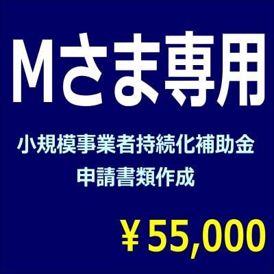 [複製]M様専用 小規模補助金書類作成代行