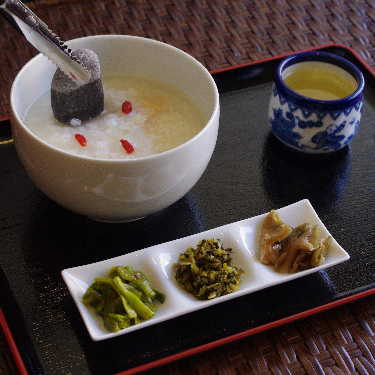 【現地払い専用】中華粥&お好きな雪花冰セット《冬期限定》のイメージその2